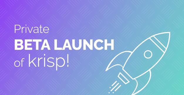 Private Beta Launch of Krisp!