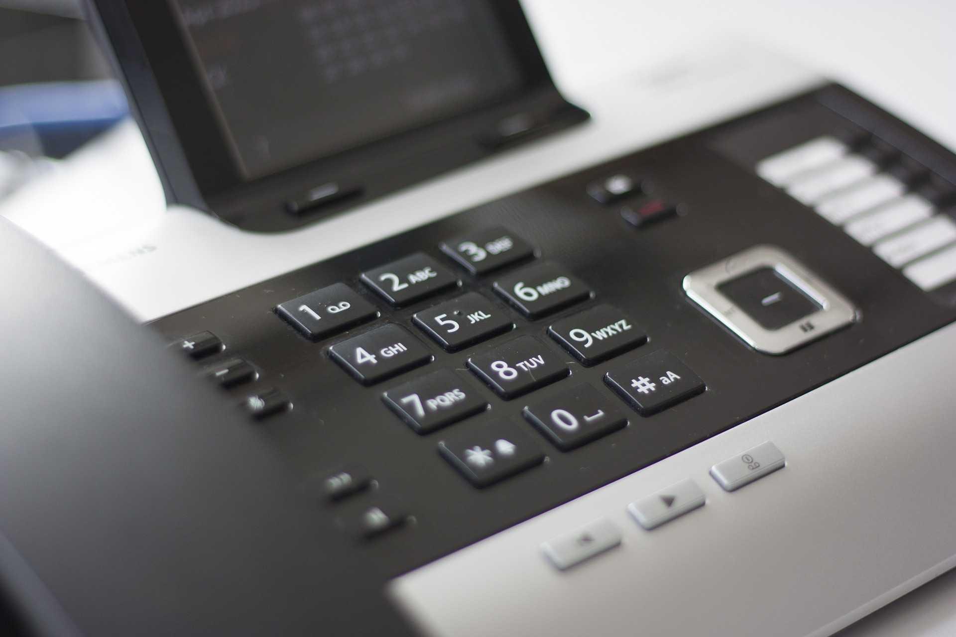 conference call via landline