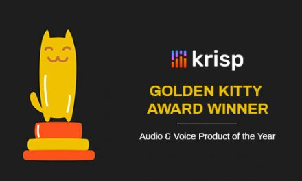 Krisp Won a Golden Kitty Award on Product Hunt!