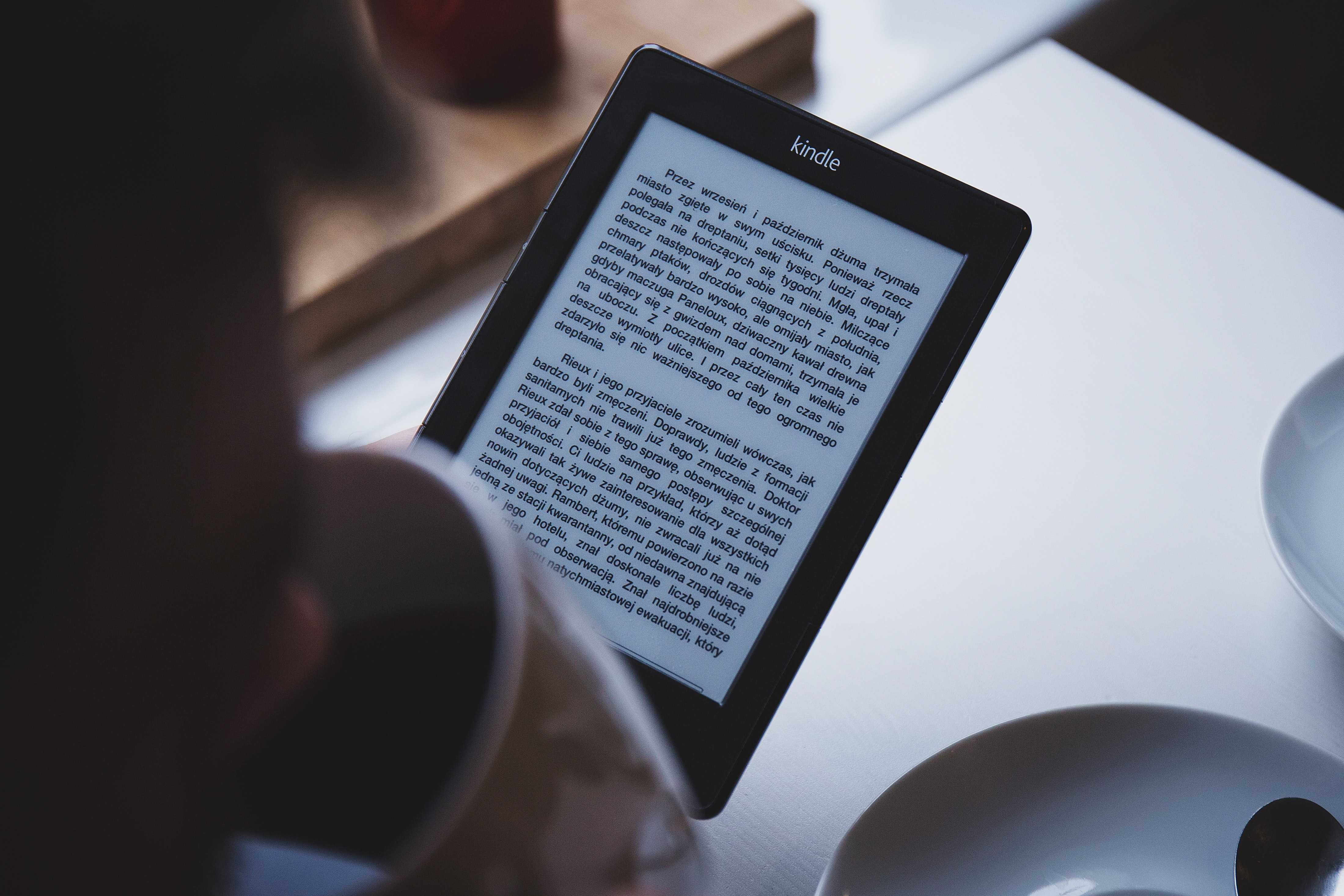 amazon kindle for digital nomads