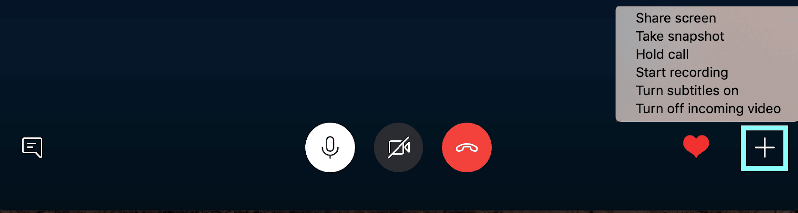 Skype other features during call