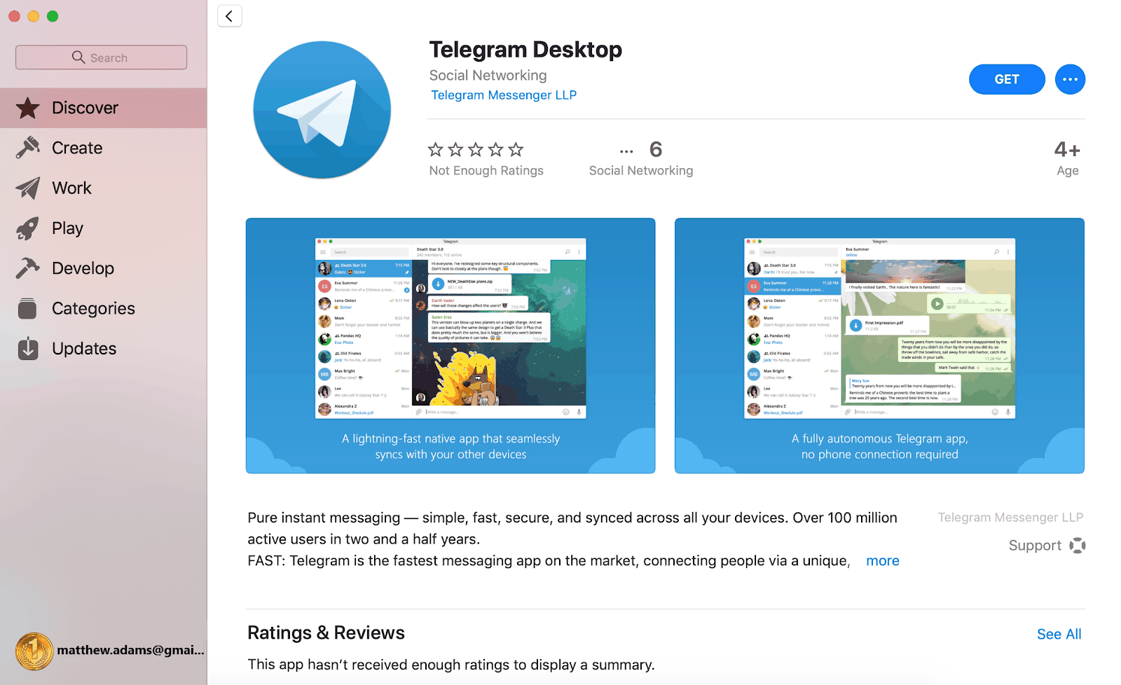 telegram software download