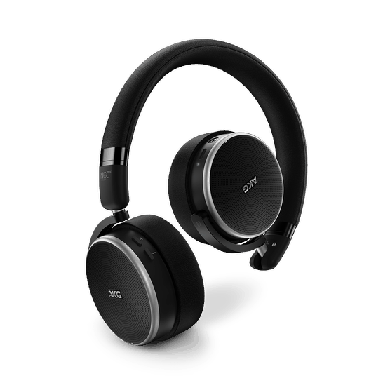 AKG N60NC on-ear noise cancelling headphones