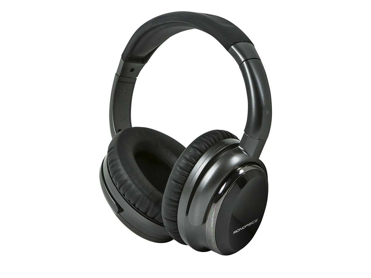 monoprice over ear headphones
