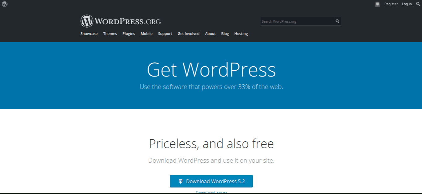 wordpress website builder for coworking