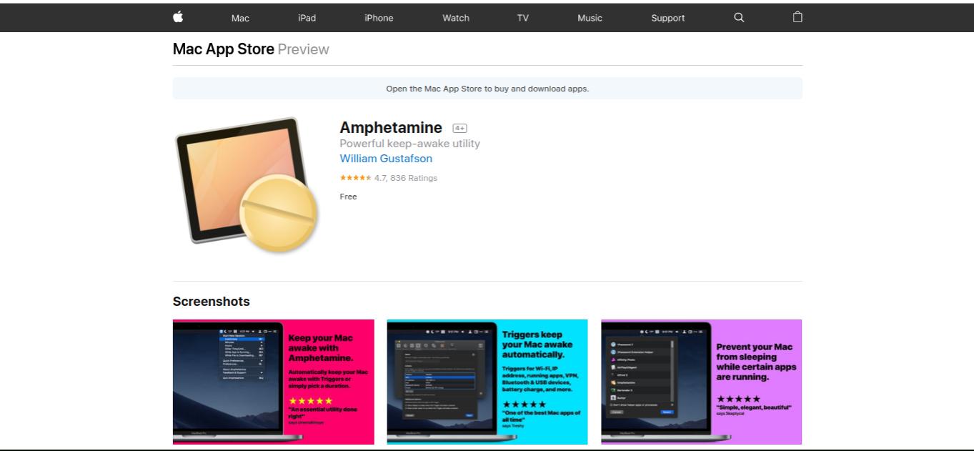 amphetamine best mac apps