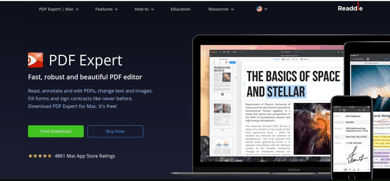 PDF expert free applications for mac