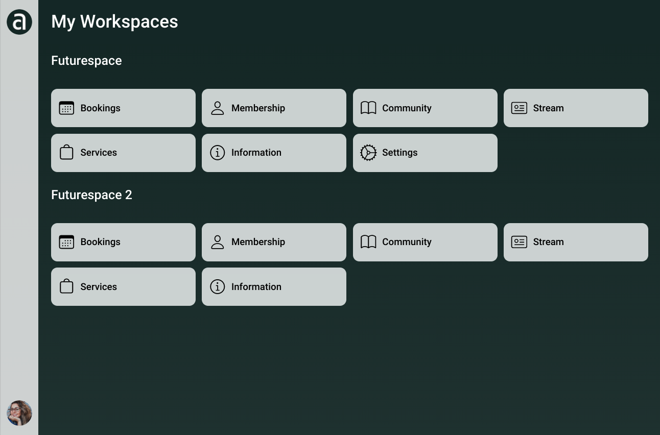 Andcards interface
