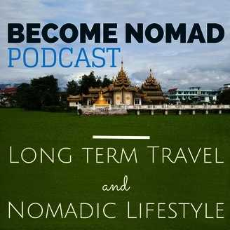 long term travel and nomadic lifestyle