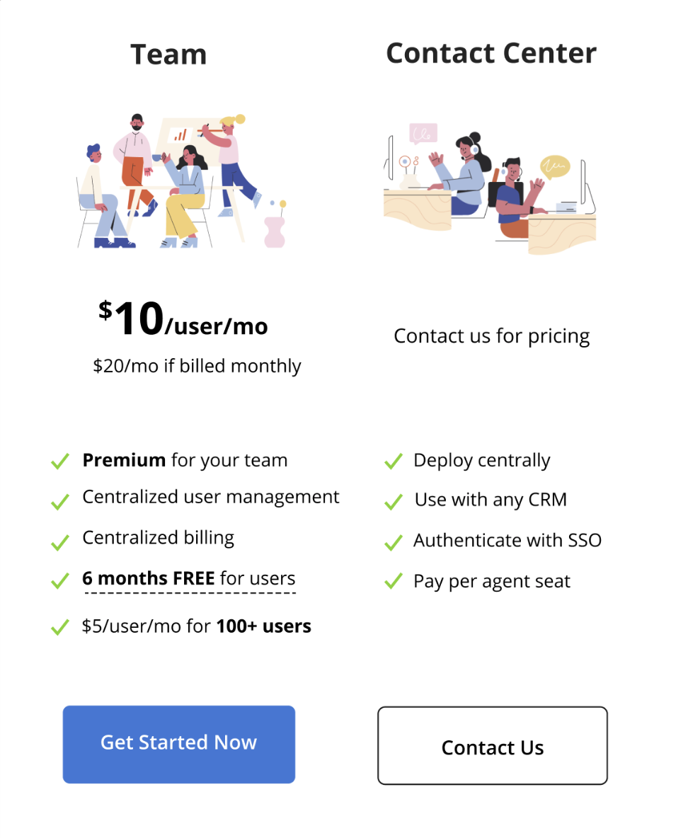 krisp for teams pricing
