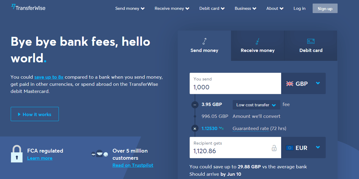 transferwise mac apps