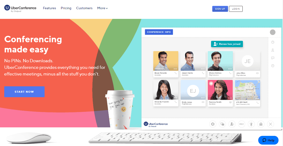 uberconference website
