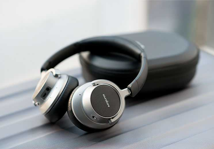 soundcore space NC over-ear noise cancelling headphones