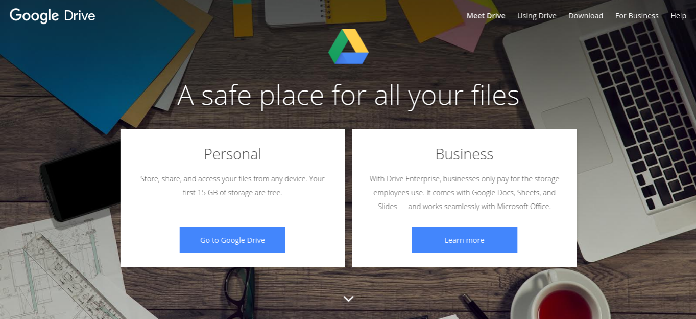 google drive productivity apps