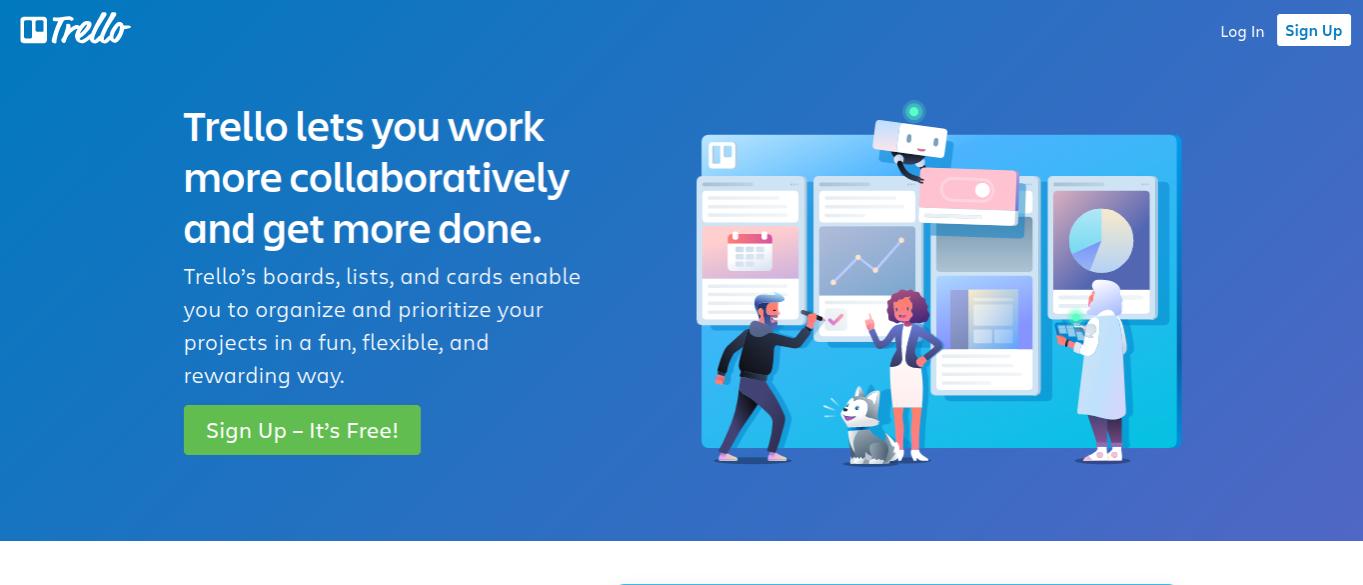 trello productivity apps