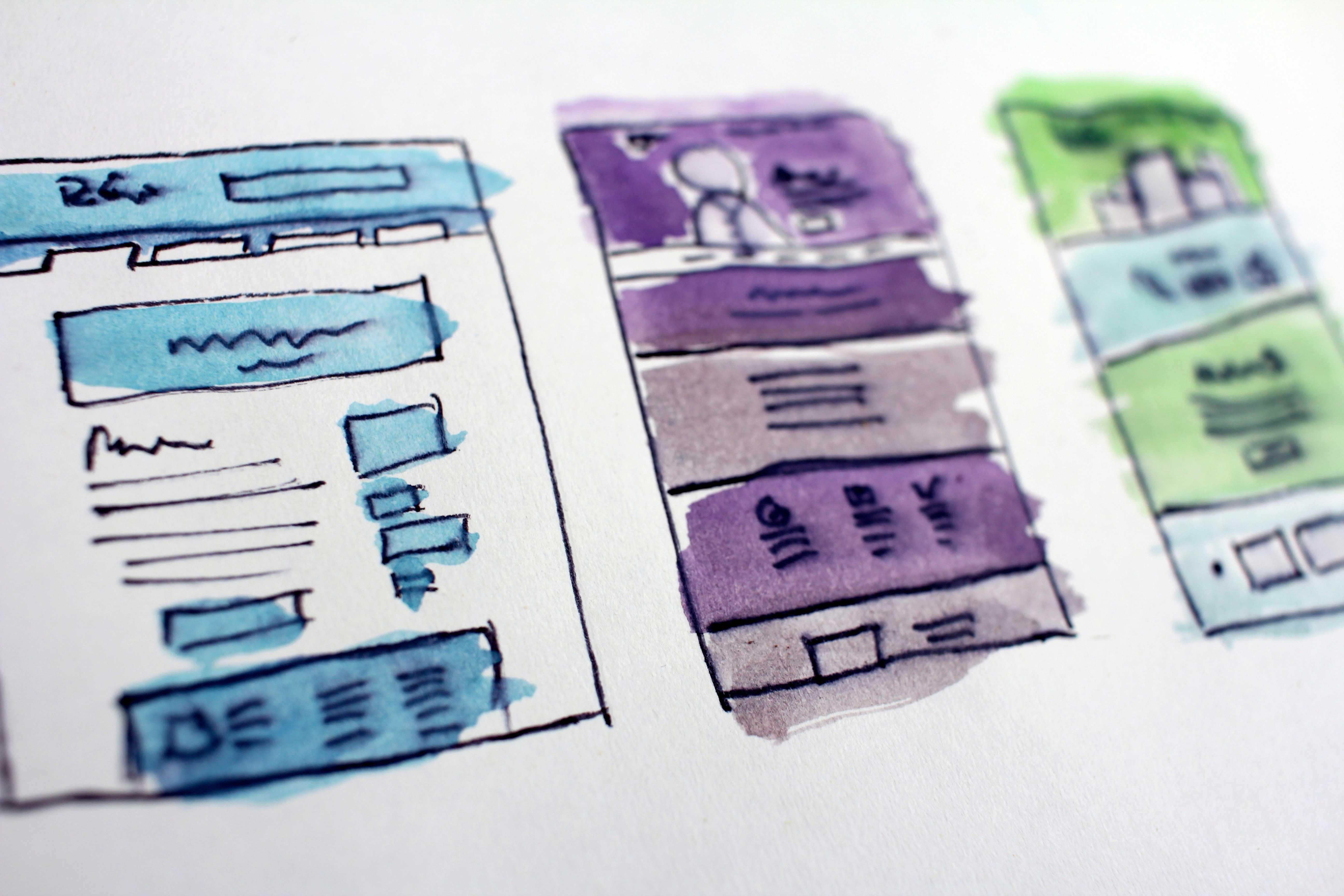 work portfolio building website