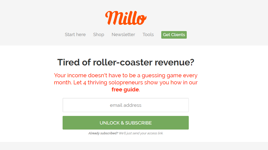 millo blog for freelancers