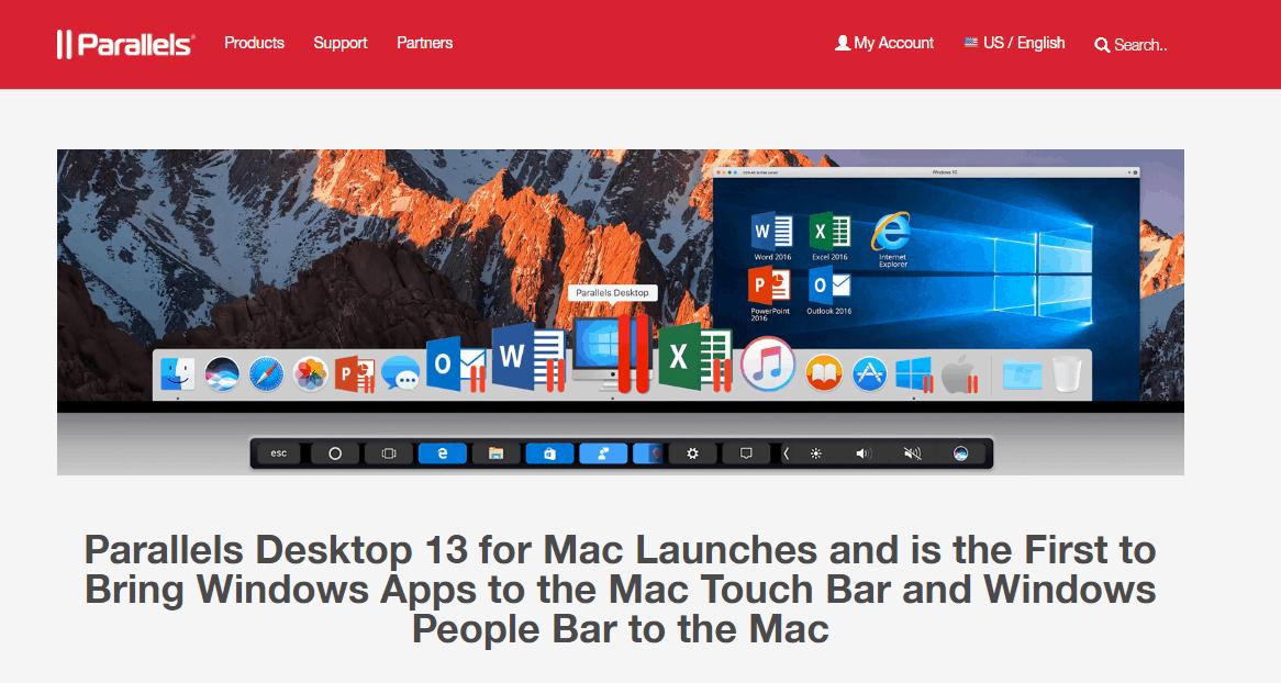 parallels desktop 13 best mac apps