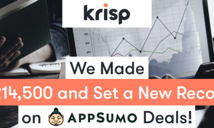 Appsumo Deals : Krisp Hit an All-Time Record Launching on Appsumo