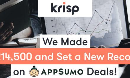 Appsumo Deals: Krisp Hit a Record Launching on Appsumo