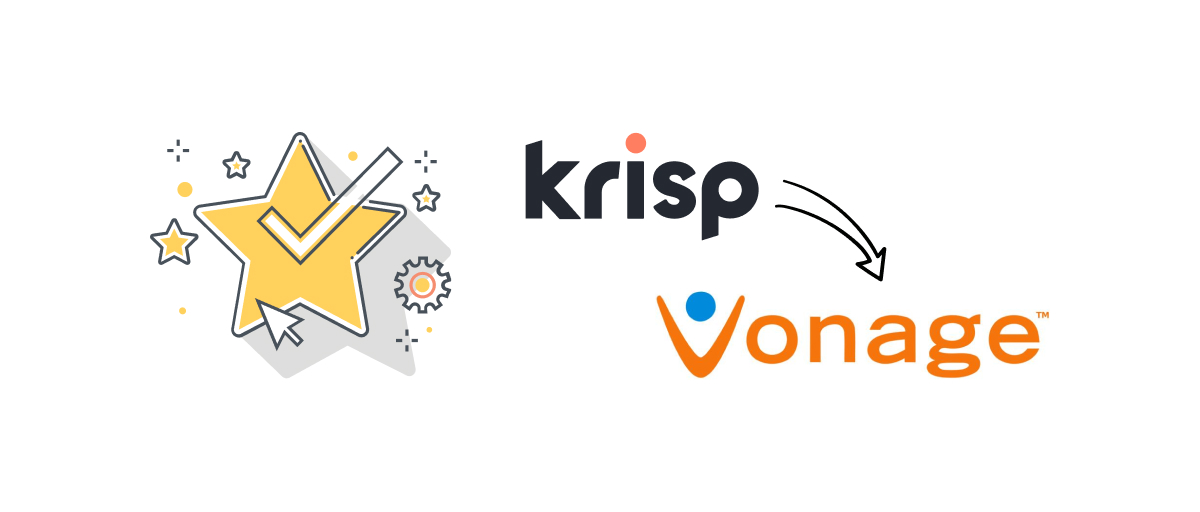 Krisp is featured on Vonage's Newly Launched App Center!
