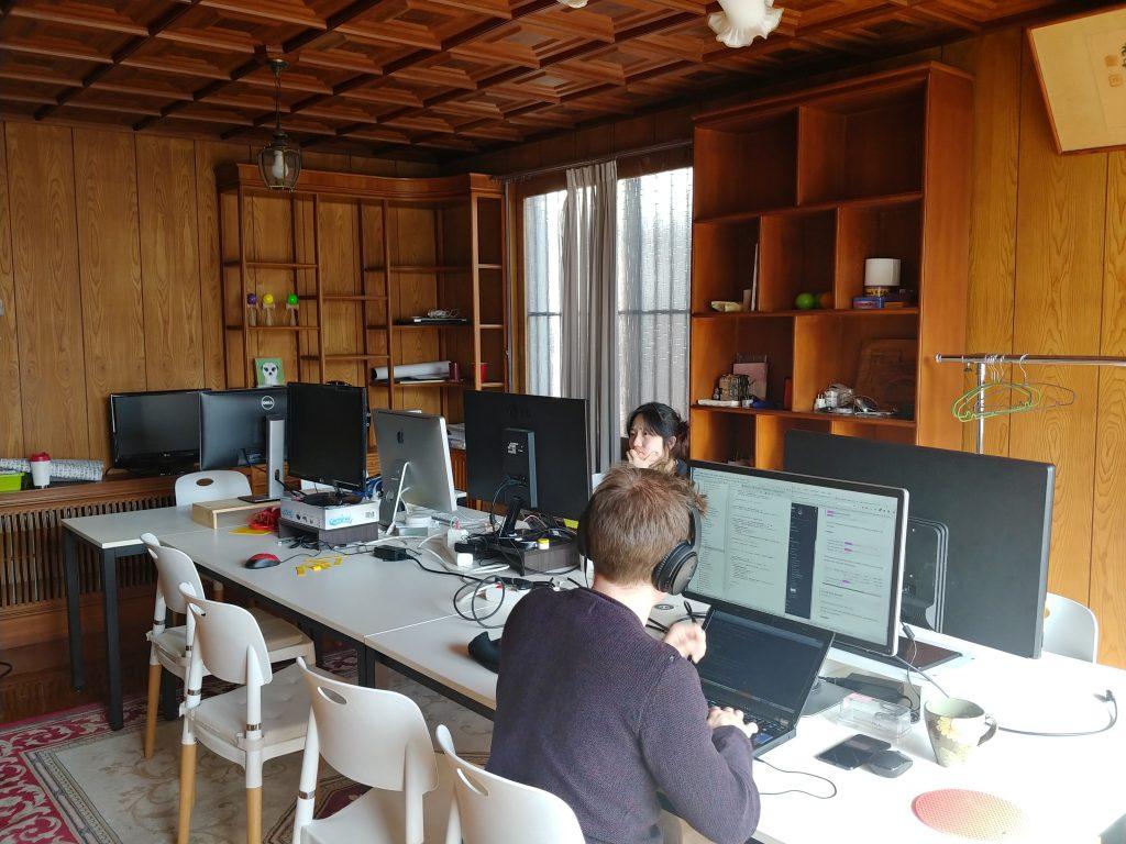 hivearena coworking space seoul korea