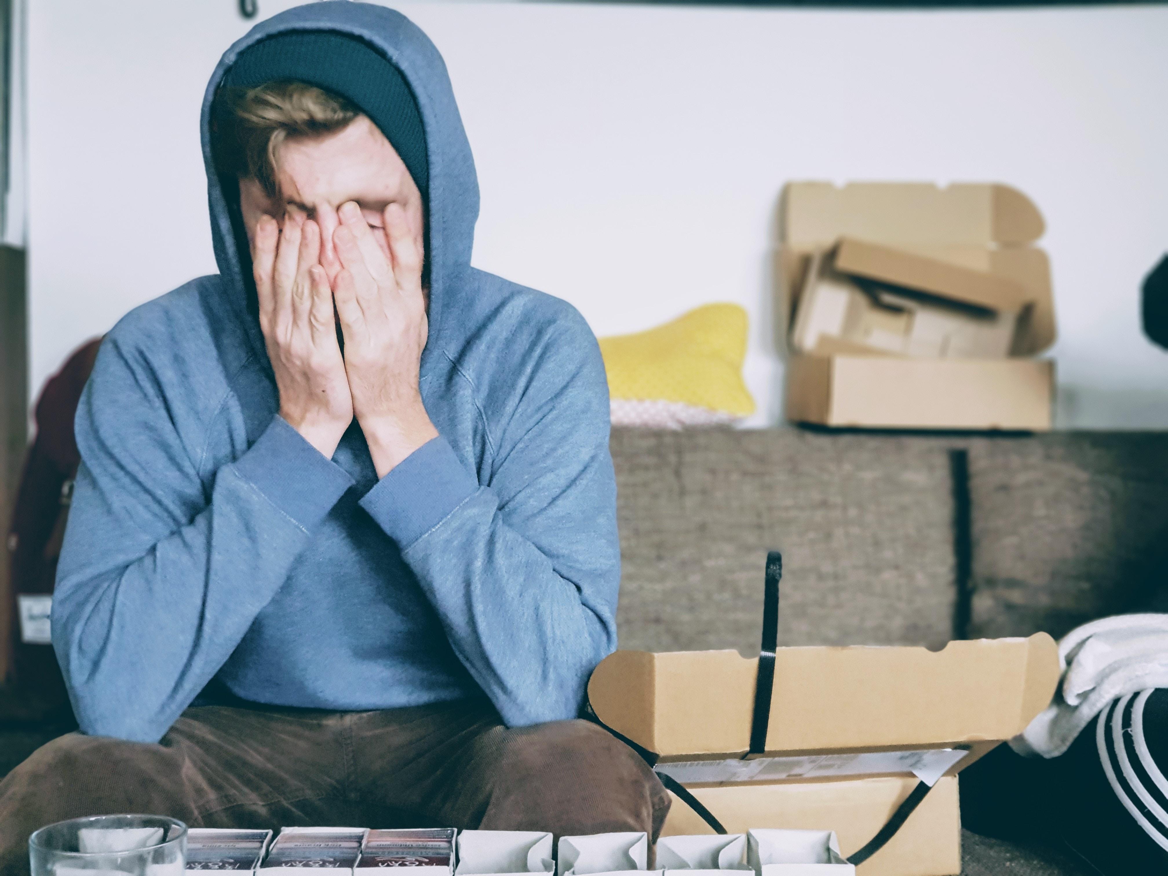 overwhelmed procrastinator