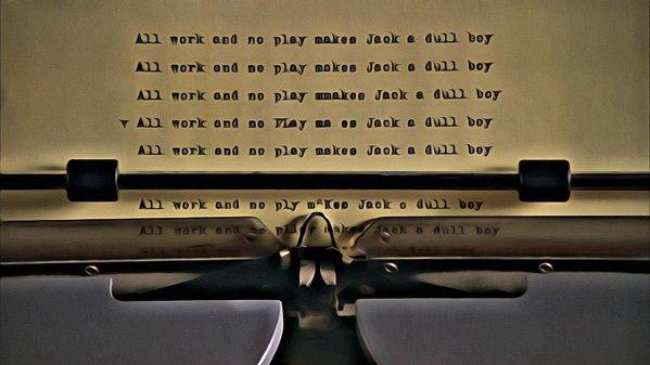 typing machine text