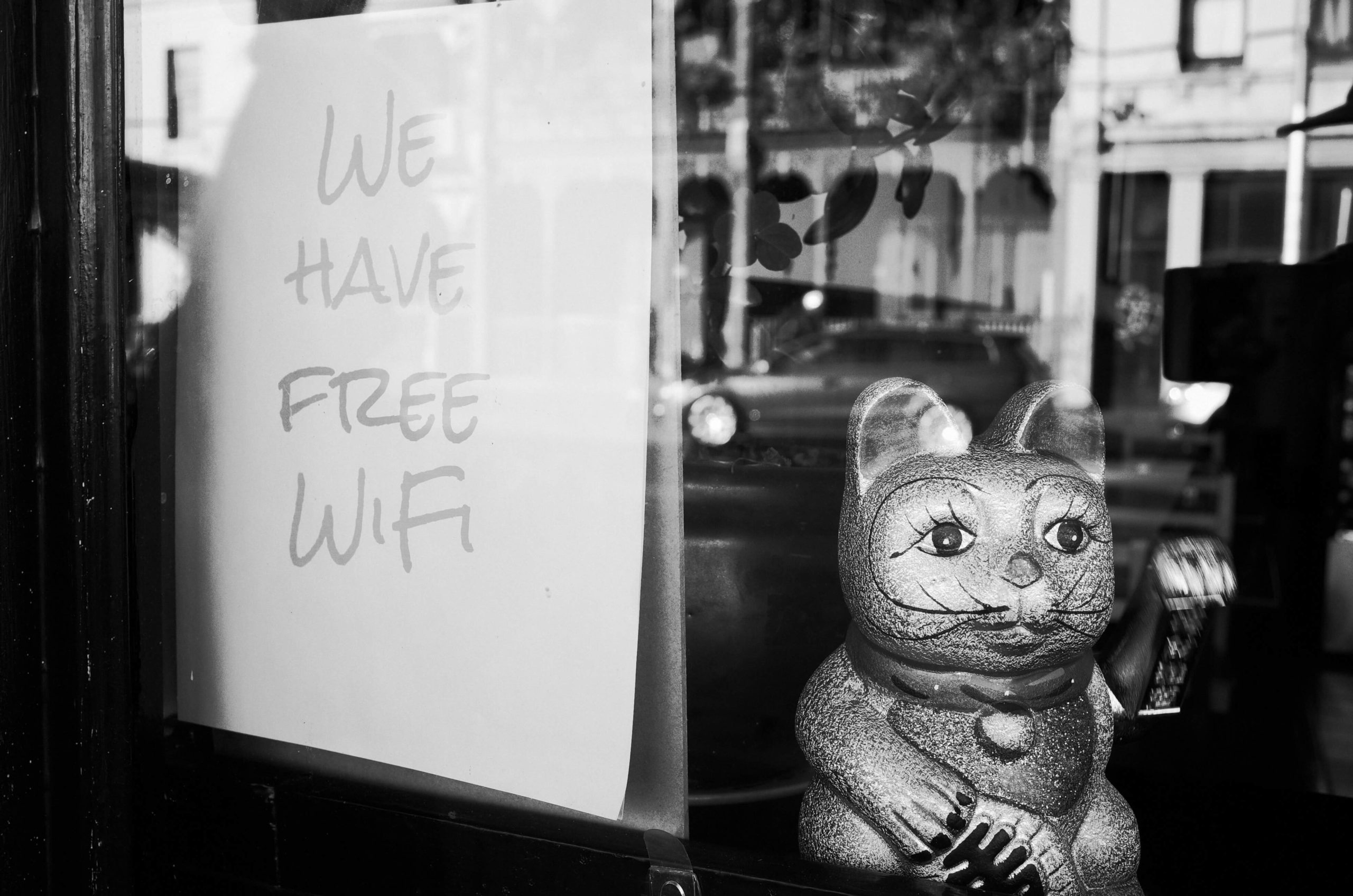 remote work meaning - free wi-fi