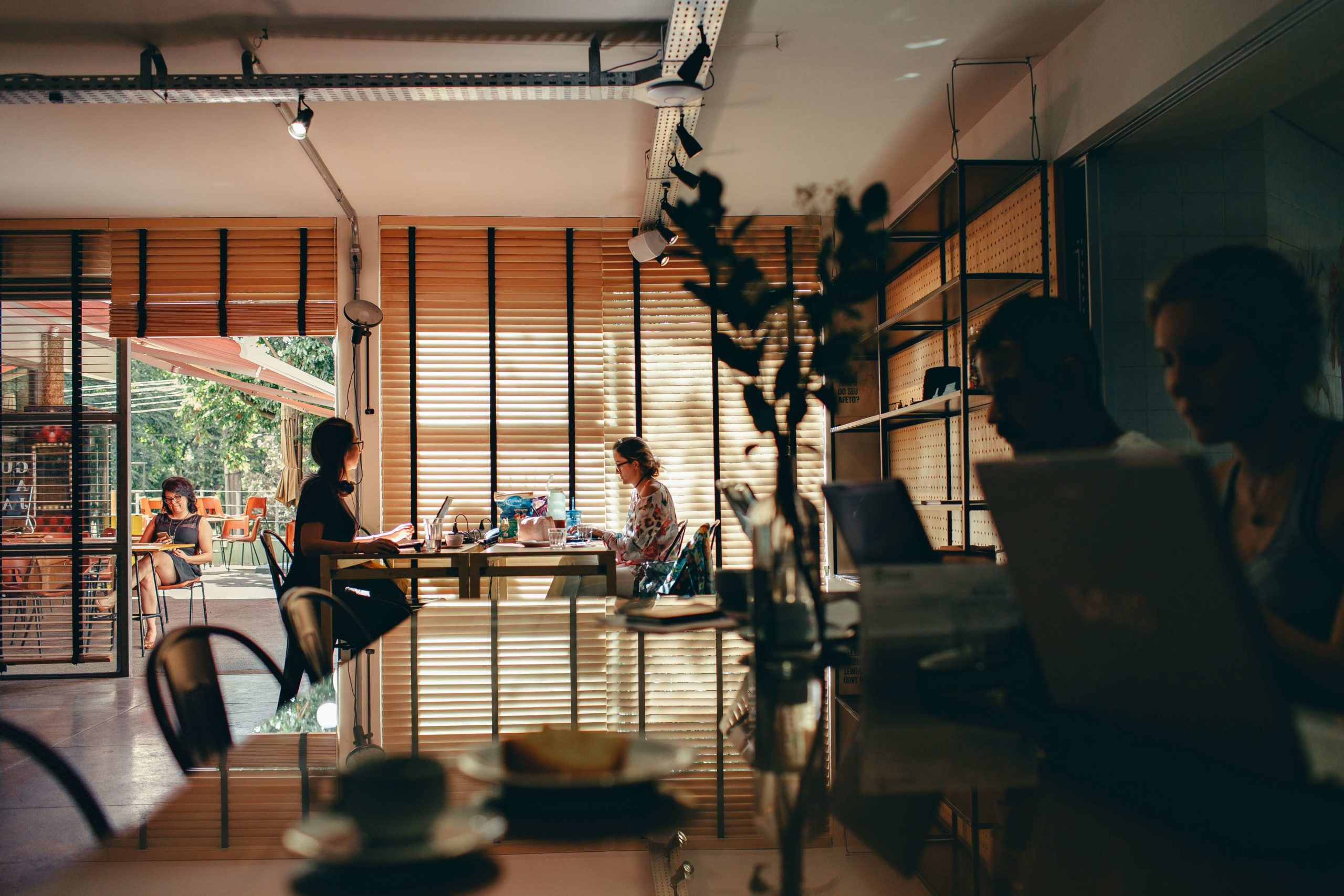 remote work meaning - coworking space