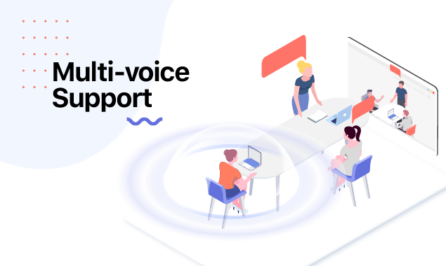 multi voice support