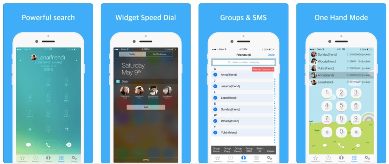 Dial+ mobile dialer
