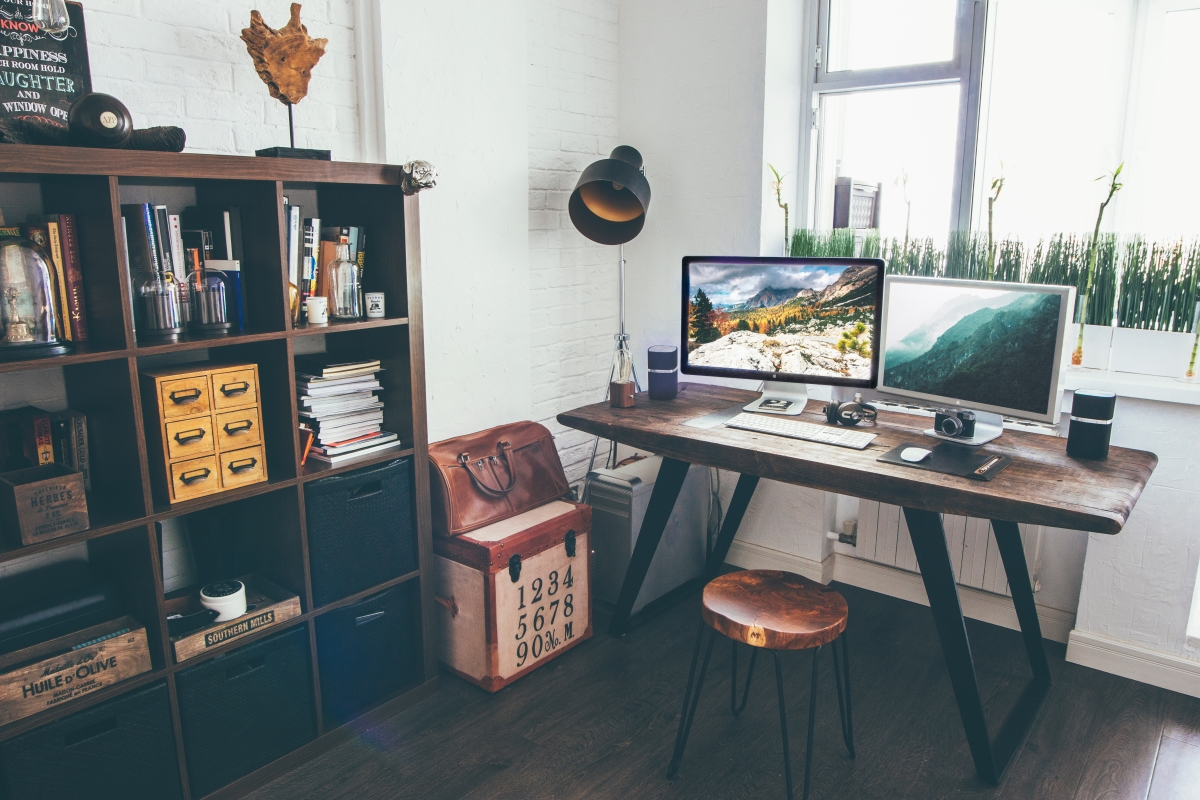 home office setup