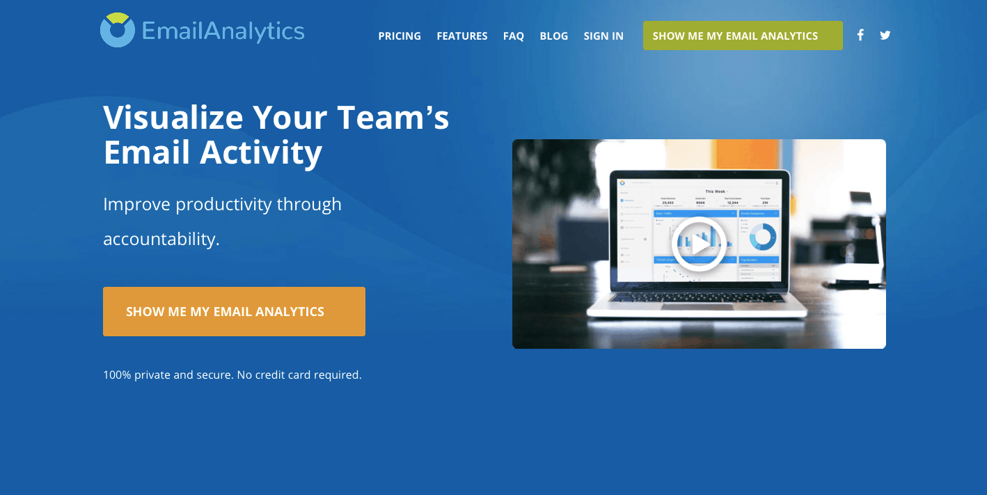 emailanalytics app