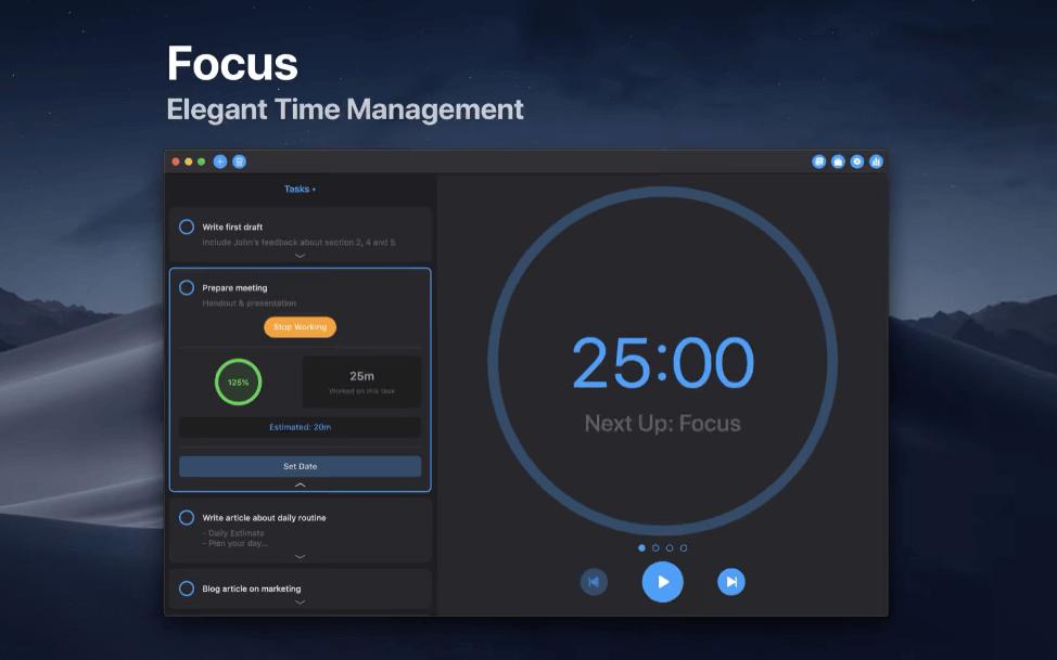 focus time app