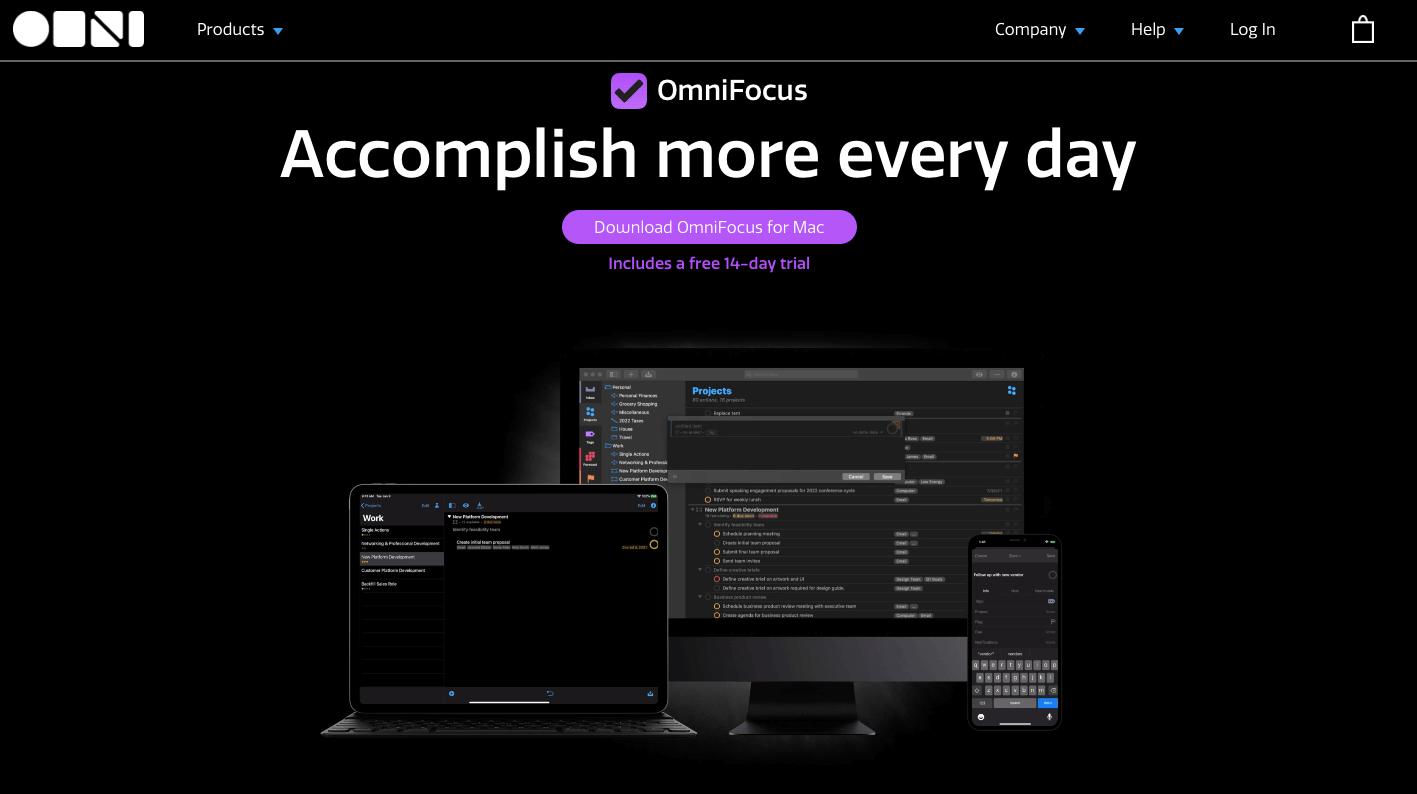 omnifocus app