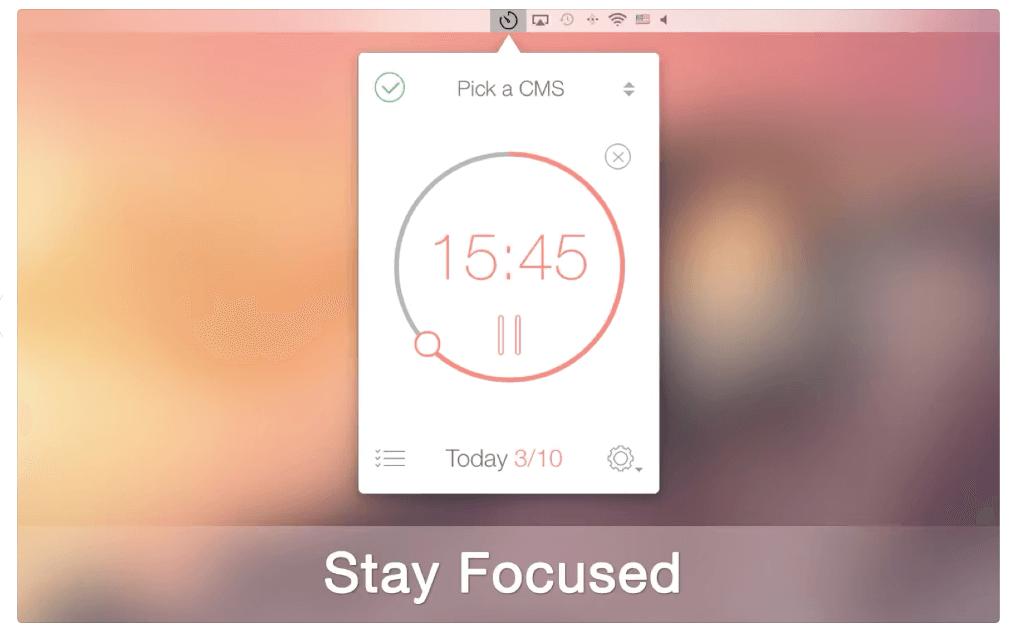 be focused pro app