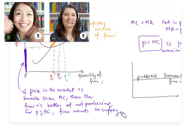 bitpaper whiteboard for video calls