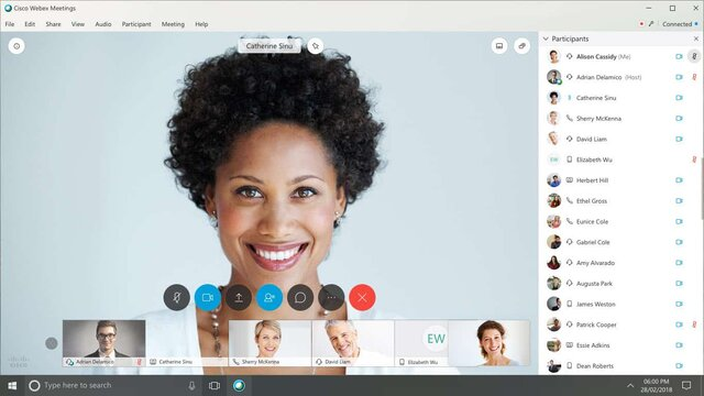 webex conference call service