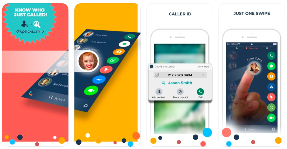 drupe dialer apps for ios