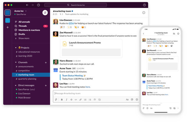 slack communication app