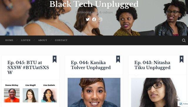 Black Tech Unplugged