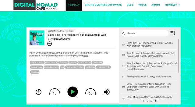 Digital Nomad podcast