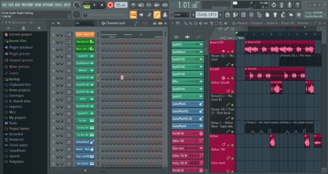 FL Studio audio recording and editing tool