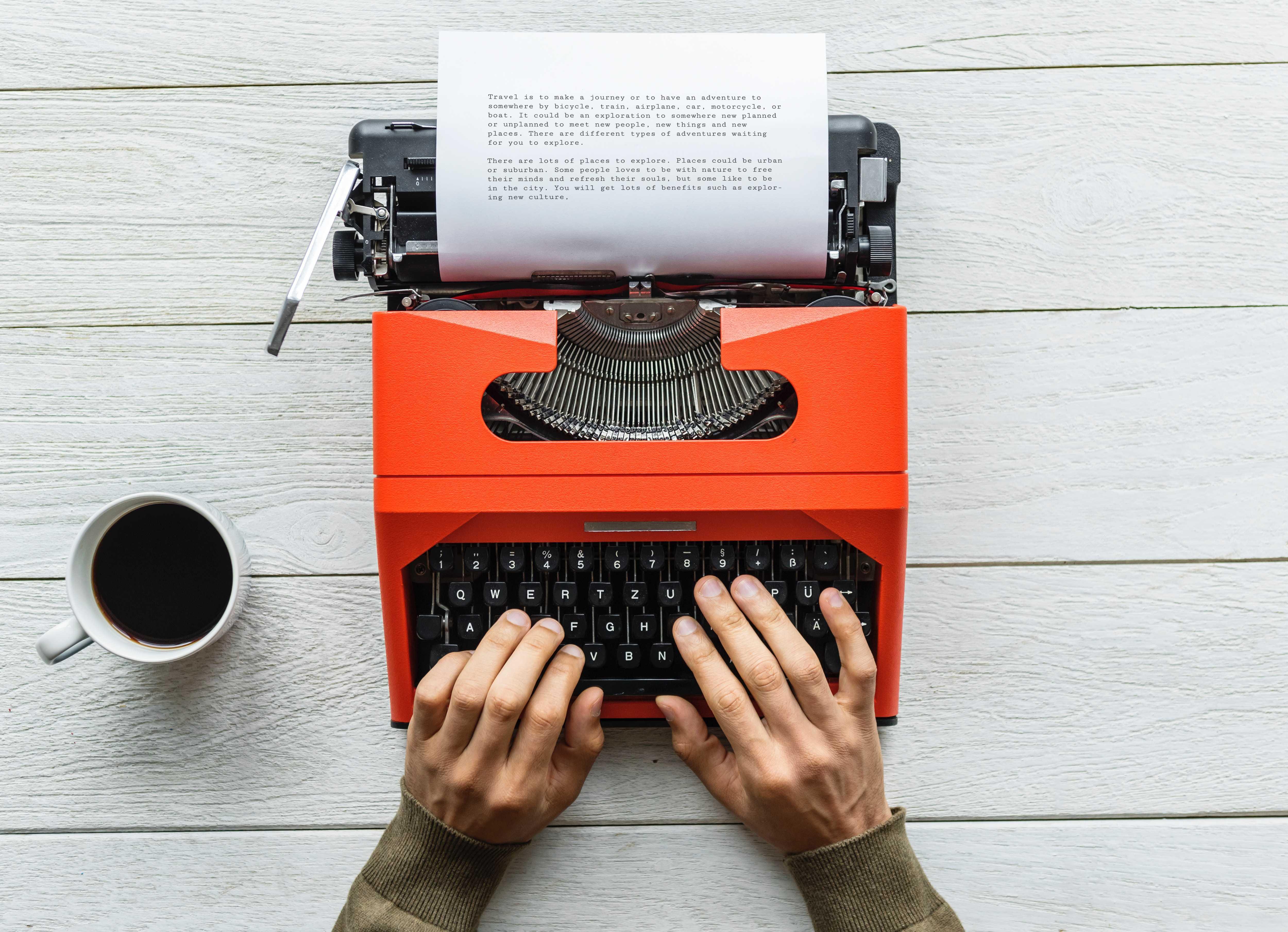 digital nomad writer