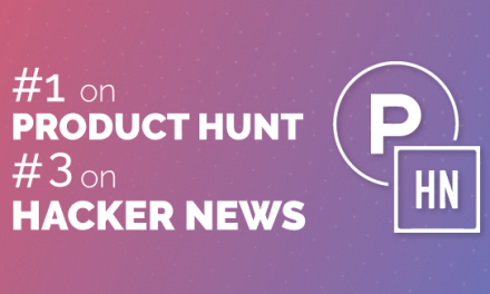 Public Beta Launch, #1 Product of the Day on Product Hunt and TOP 3 on Hacker News